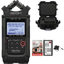 Zoom H4n Pro Recorder Bundle