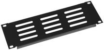 Gator GRW-HALFRKPNLVNT2 - Half Rack Standard Width 2U vented panel