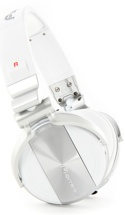 Pioneer DJ HDJ-1500 DJ Headphones, Matte White - Closed