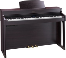 Roland HP603 Digital Piano - Contemporary Rosewood