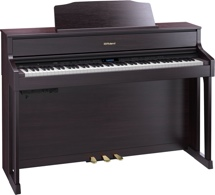 Roland HP605 Digital Piano - Contemporary Rosewood
