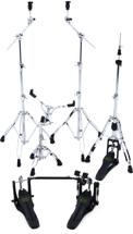 Mapex Armory 5-piece Hardware Pack with Double Pedal - Chrome Plated