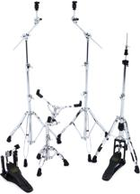 Mapex Armory 5-piece Hardware Pack with Single Pedal - Chrome Plated