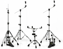 Mapex Armory 5-piece Hardware Pack with Single Pedal - Chrome & Black