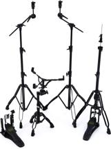 Mapex Armory 5-piece Hardware Pack with Single Pedal - Black Plated
