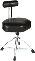 Tama 1st Chair Drum Throne Ergo-Rider Throne with Backrest - Black