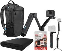 GoPro HERO5 Black 4K Camera Backpack Package