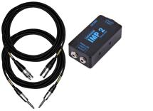 Whirlwind IMP2 Direct Box & Cable Package with Pro Co Cables