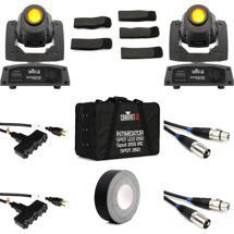 Chauvet DJ Intimidator Spot 155 2-Pack w/ Case & Cables