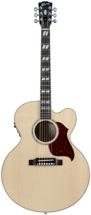 Gibson Acoustic J-185 EC Blues King Electro - Antique Natural Nickel HW