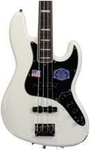 Fender American Deluxe Jazz Bass - Olympic White