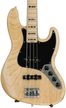 Fender American Elite Jazz Bass - Natural, Maple Fingerboard