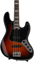 Fender American Elite Jazz Bass - 3-color Sunburst, Rosewood Fingerboard