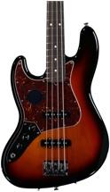 Fender American Standard Jazz Bass Left-handed - 3-color Sunburst with Rosewood Fingerboard