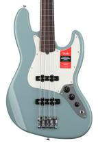Fender American Professional Fretless Jazz Bass - Sonic Gray with Rosewood Fingerboard