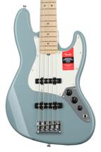Fender American Professional Jazz Bass V - Sonic Gray with Maple Fingerboard