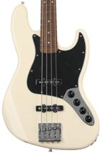 Fender Deluxe Active J Bass - Olympic White with Pau Ferro Fingerboard
