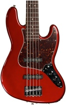 Fender Deluxe Active Jazz Bass V - Candy Apple Red