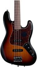 Fender American Standard Fretless Jazz Bass - 3-tone Sunburst, Rosewood Fingerboard