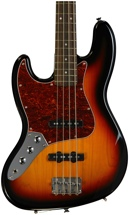 Squier Vintage Modified Jazz Bass - 3-Color Sunburst, Left Hand
