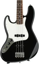 Fender Standard Jazz Bass Left-Hand - Black with Rosewood Fingerboard
