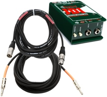 Radial JDI Direct Box Package w/Mogasmi CorePlus Cables