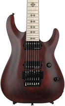 Schecter Jeff Loomis JL-7 with Floyd Rose - Vampyre Red Satin
