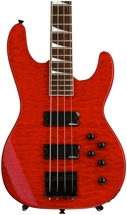 Jackson JS3 Concert Bass - Transparent Red