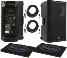 QSC K10 Pair with GRAMMAII and Cables