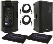 QSC K12 Pair with GRAMMAII and Cables
