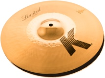 Zildjian K Custom Hybrid Limited Edition Reversible Hi-hats - 14