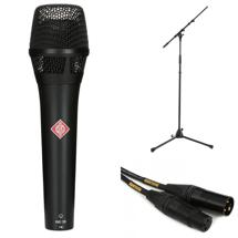 Neumann KMS 105 Microphone with Stand and Cable - Matte Black