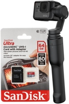 GoPro Karma Grip + Hero5 Black Camera w/ Handheld Stabilizer Package
