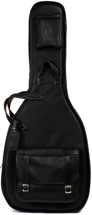 Levy's Leather Acoustic Guitar Gig Bag - Black