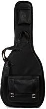 Levy's Leather Acoustic Guitar Gig Bag - Black