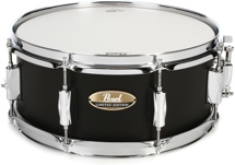 "Pearl Limited Edition Maple Snare Drum - 5.5""x13"" - Satin Black Lacquer"