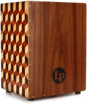 Latin Percussion Peruvian Solid Wood Brick Cajon - with Bag