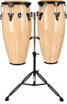 Latin Percussion Aspire Wood Conga Set - Natural