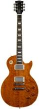 Gibson Les Paul Standard Premium - Trans Amber, AAA Birdseye Maple