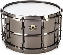 """Ludwig Black Magic Snare Drum - 8""""x14"""""""