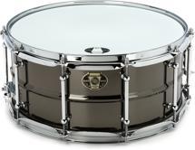 """Ludwig Black Magic Snare Drum - 6.5""""x14"""""""