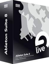 Ableton Suite 8.2 Upgrade from Suite 7