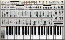 D16 Group LuSH-101 Analog Synthesizer Plug-in