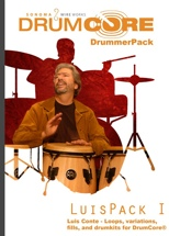 Sonoma Wire Works DrummerPack Expansion - Luis Conte vol 1