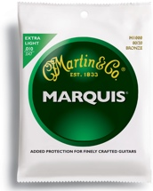 Martin M-1000 Marquis 80/20 Bronze Extra Light Acoustic Strings