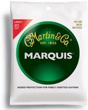 Martin M-1100 Marquis 80/20 Bronze Light Acoustic Strings
