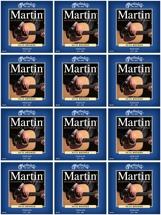 Martin M-150 80/20 Bronze Medium Acoustic Strings 12-Pack