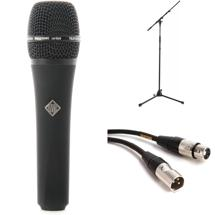 Telefunken M80 Black with Stand and Cable