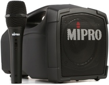 MIPRO MA-101C Personal PA System with Wired Handheld Microphone