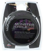 Monster 600201 Bass Instrument Cable - 12'